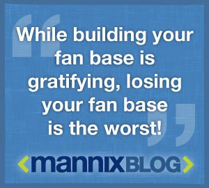 Mannix quote on building social following