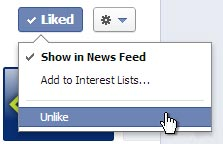 Facebook show in News Feed image