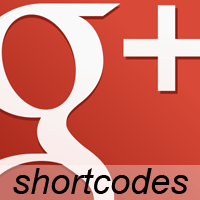 Google Plus Shortcodes