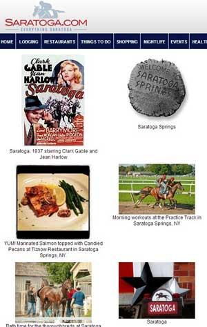 Saratoga Springs Pinterest Feed on Saratoga.com