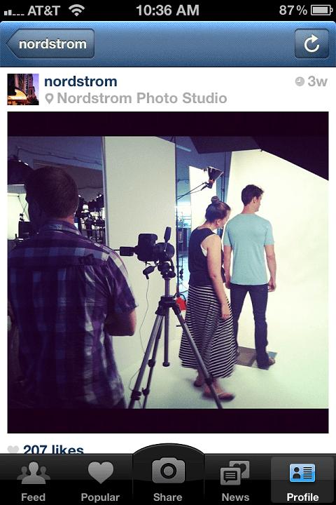 Nordstrom Instagram photo