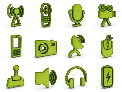 Multi-Channel Marketing Icons