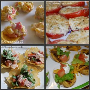 Collage of Appetizers
