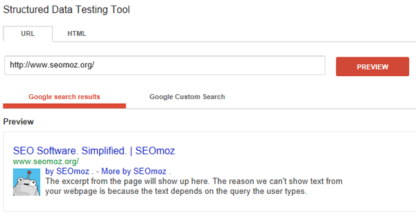 Organizational Logos in search results