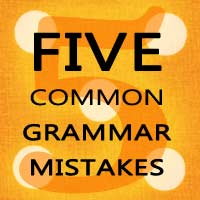 5 grammar mistakes