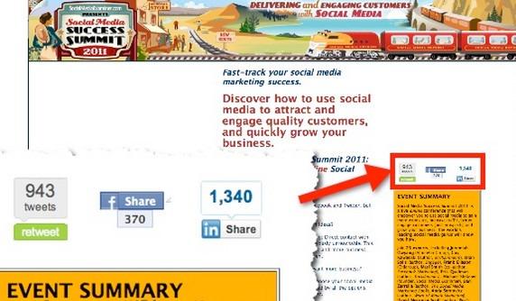 Social Media Share buttons by Social Media Examiner