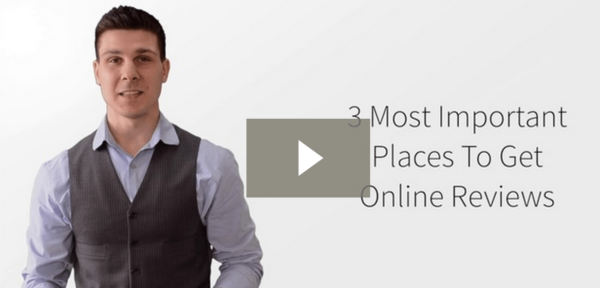 3 Most Important Places To Get Online Reviews video screen shot