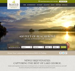 Scott's Resort Web Design