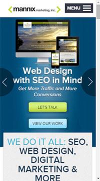 Mannix Website On Mobile