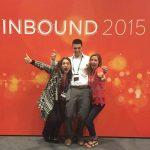 The Mannix Marketing team at Hubspot's Inbound 2015 Digital Marketing Conference