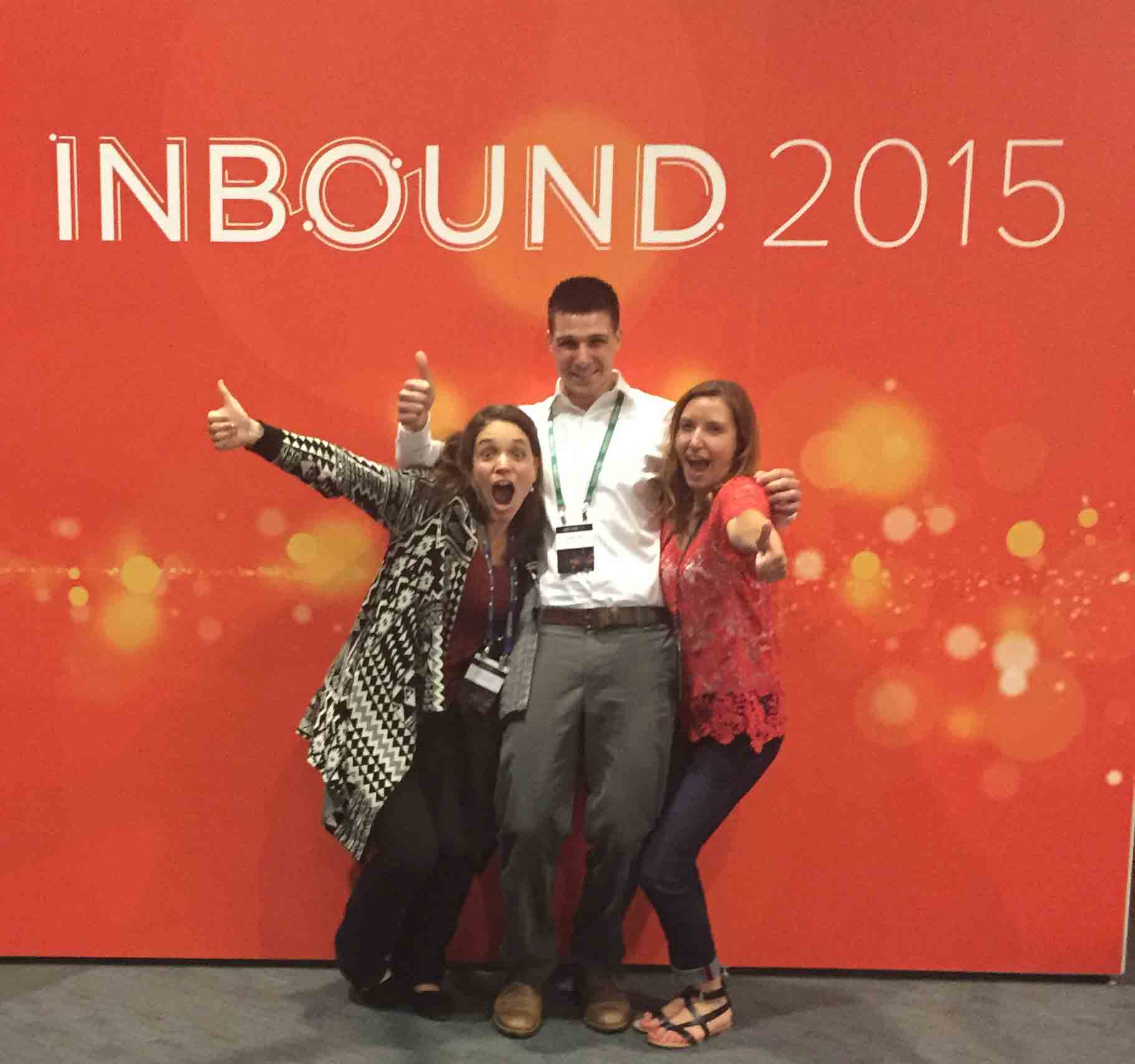 The Mannix Marketing team at Hubspot's Inbound 2015 Digital Marketing Conference