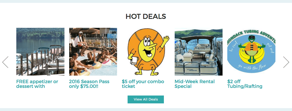 LakeGeorge.com Hot Deals