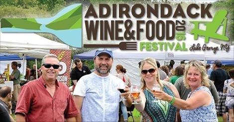 Adirondack Wine & Food Festival Ad