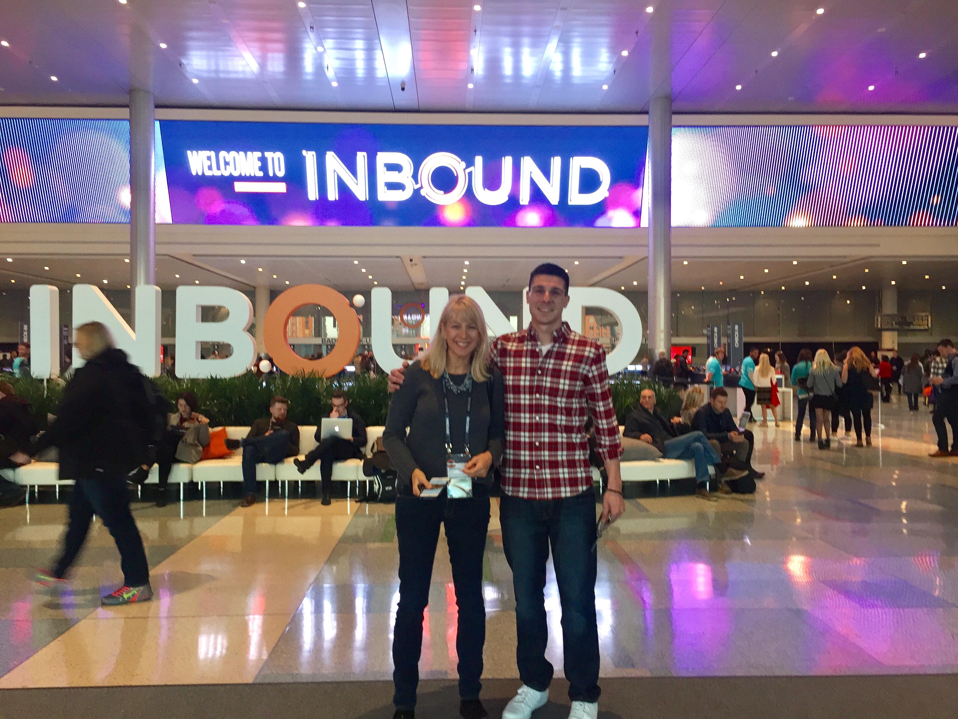 Sara Mannix Jeremy Abel Mannix Marketing at Inbound 2016