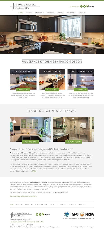 Andrea Langford Designs Website Design and Development