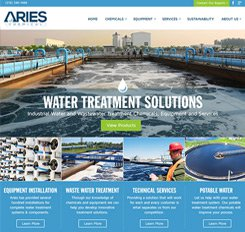 Aries Chemical Web Design