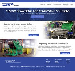BDP Industries Web Design