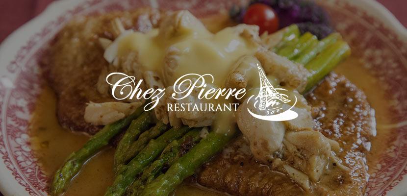 Chez Pierre Related Website Design and Development