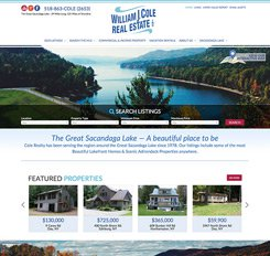 William J Cole Real Estate Website Design