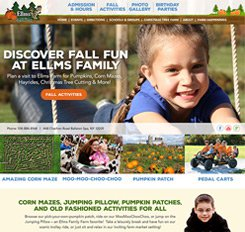 Ellms Farm Website Design