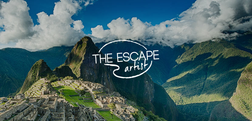 Escape Artist Travel Adventure Related Website Design and Development