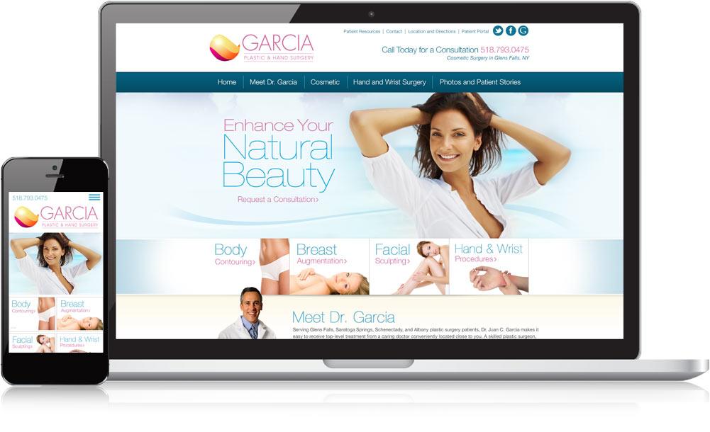 Dr Garcia Responsive Website Design