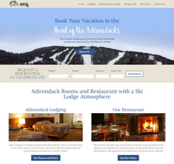 The Inn on Gore Mountain Website Design