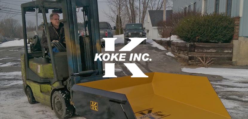 Koke Inc. Related Website Design and Development
