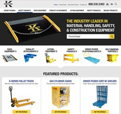 Koke Website Design