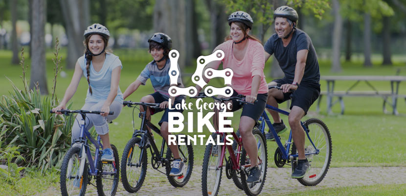 Lake George Bike Rentals Related Website Design and Development