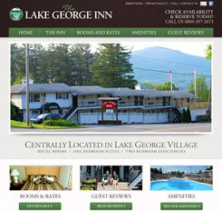 Lake George Inn Website Design