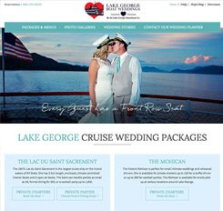 Lake George Boat Weddings