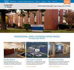Lakeside Park Website Design