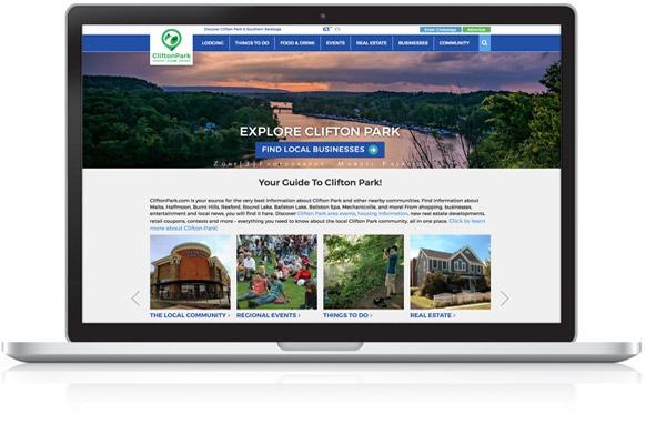 CliftonPark.com Homepage