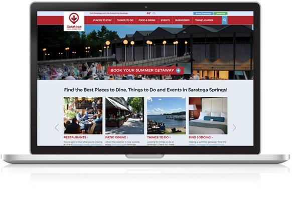 Saratoga.com Homepage