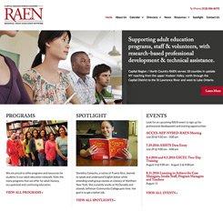 RAEN Website Design