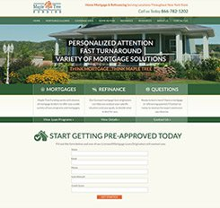 Maple Tree Funding Website Design