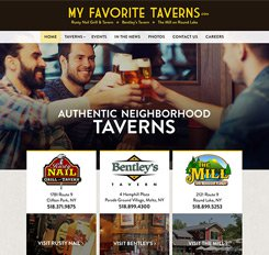 MyFavoriteTaverns.com Website Design
