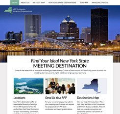 NYS Association of Conventions Website Design