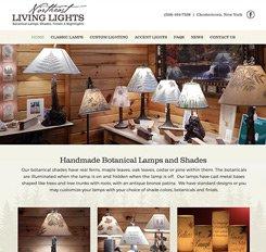 Northern Living Lights Website Design