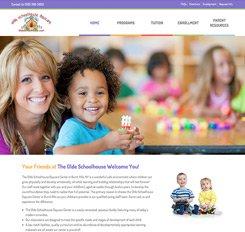 Olde Schoolhouse Daycare Website Design