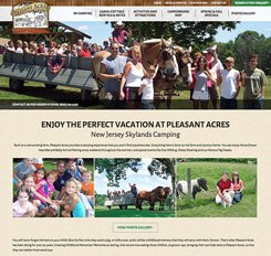 Pleasant Acres Website Design