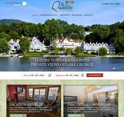 The Quarters Resort Web Design