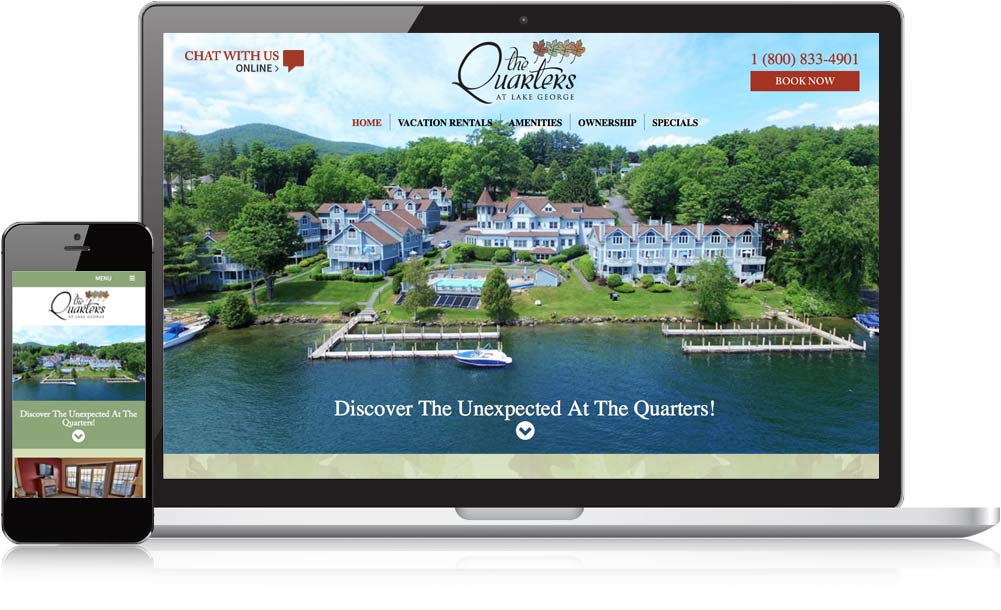 The Quarters Responsive Website Design