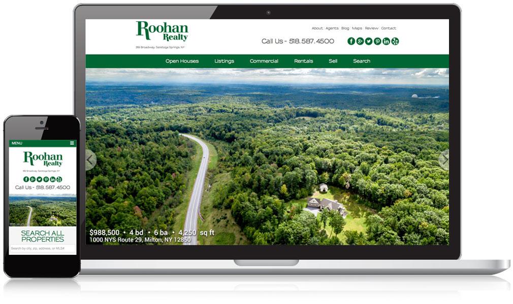 Roohan Realty Responsive Website Design