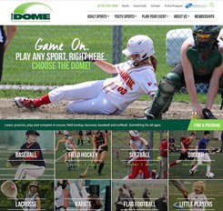 The Dome Web Design