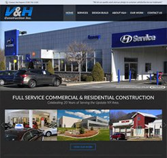 VandH Construction Web Design