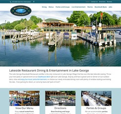 The Lake George Boardwalk Restaurant and Marina