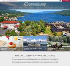 Fort William Henry Website Design