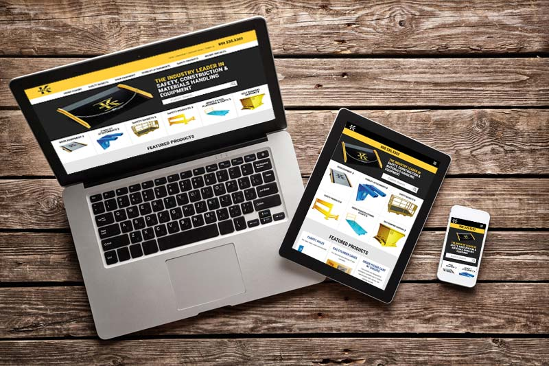 Responsive Website Design for Koke Inc.